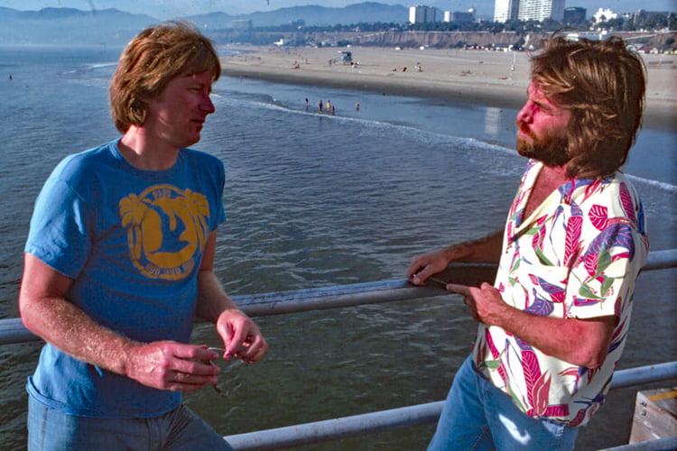 Dean Torrence and Dennis Wilson: the connections between the two surf music groups are many | Photo: Torrence Archive