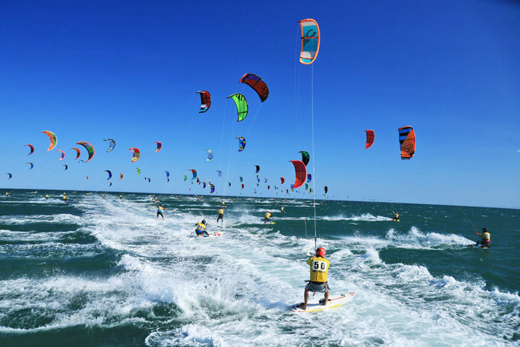 Défi Kite 2015: 228 riders in Gruissan | Photo: Biancotto