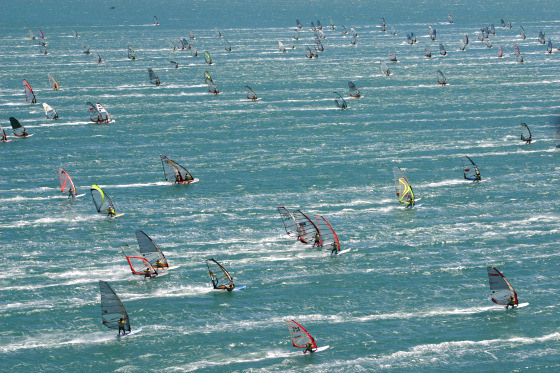 Défi Wind: only 1000 windsurfers expected in Gruissan