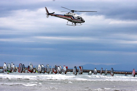 Défi Wind 2011: the heli was not competing