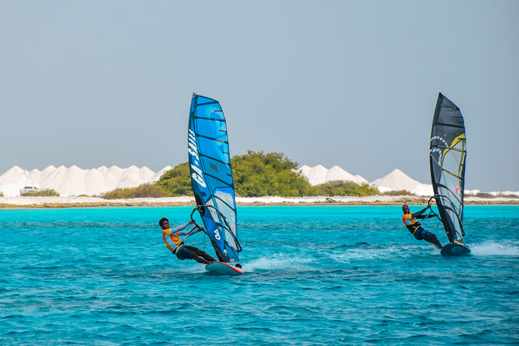 Défi Wind Caribbean: windsurfing in the warm and beautiful blue waters of Bonaire | Photo: Défi Wind Caribbean