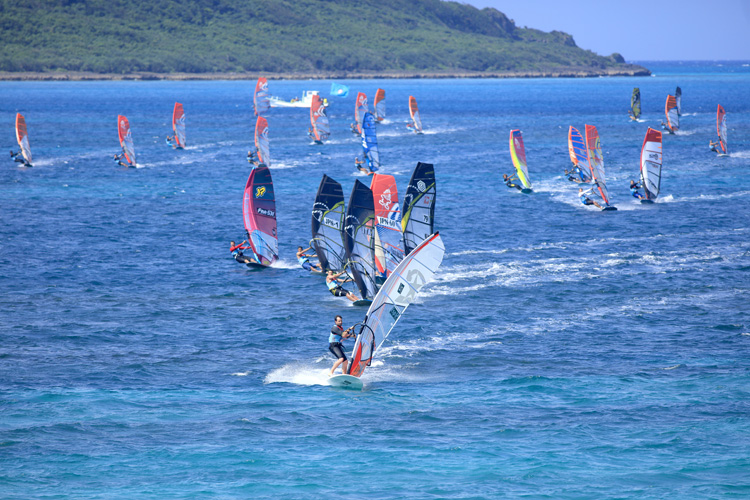 Défi Wind Japan: the event takes place in Miyako Island | Photo: Défi Wind