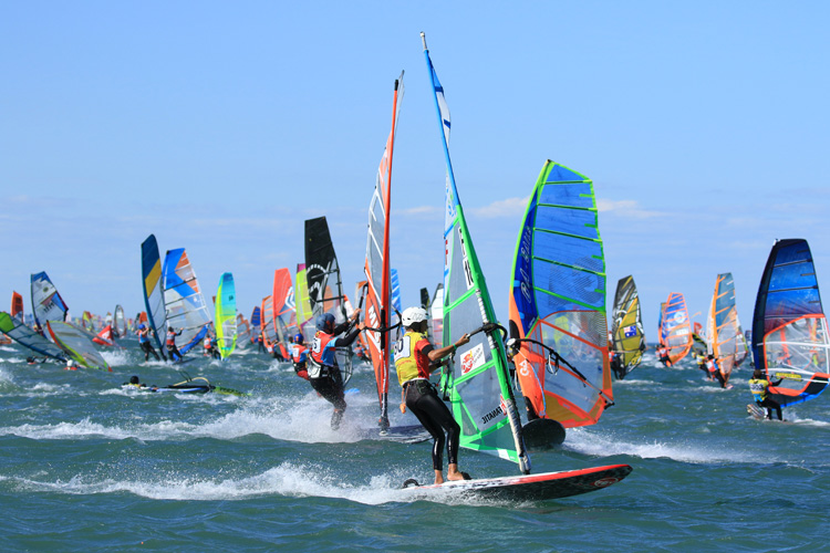 2019 Defi Wind: the organization was able to run two races | Photo: Souville