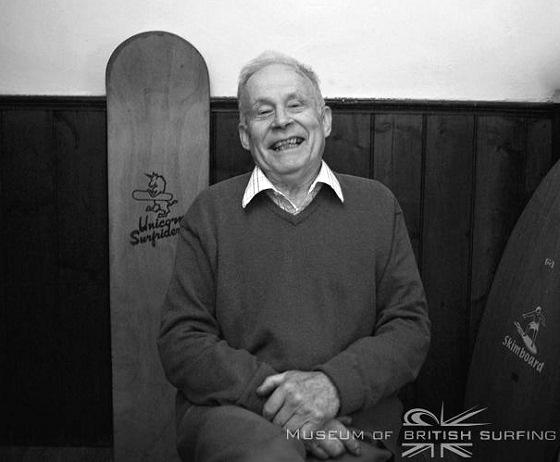 Dick Pearce: an UK surfing legend