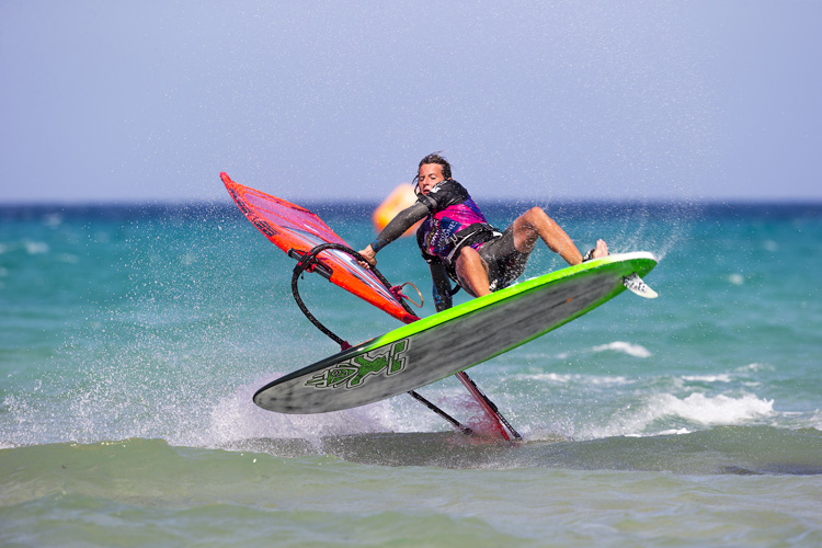 Dieter Van der Eyken: the 2015 PWA Freestyle World Tour champion | Photo: Carter/PWA