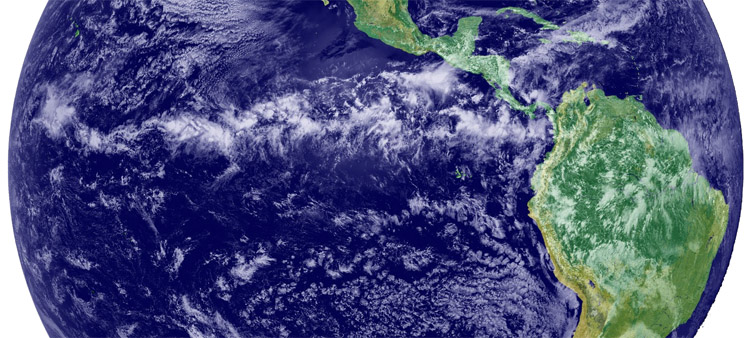 The doldrums: the Equator is a windless water region