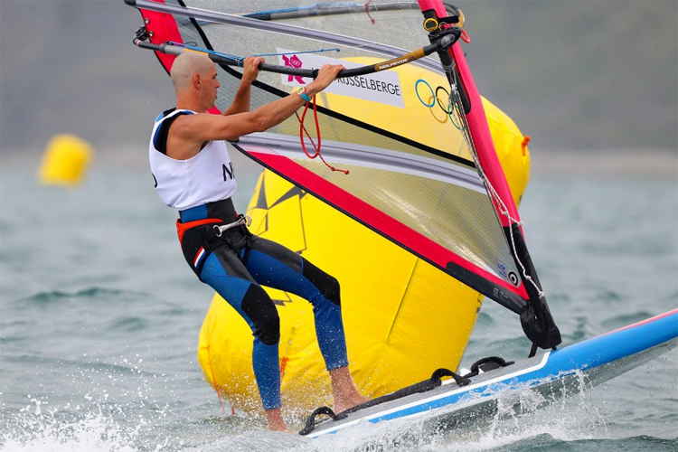 Dorian van Rijsselberghe: windsurfing to gold at London 2012 | Photo: London 2012