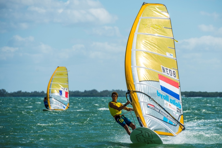 Dorian van Rijsselberge: from Miami to Abu Dhabi | Photo: US Sailing