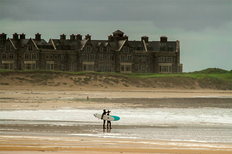 Doughmore Beach: Trump's Irish Wall was going to destroy the sensitive sand dune system | Photo: Save The Waves