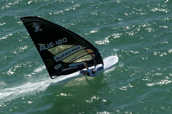 2011 Downunder Pro: the black magic windsurfer
