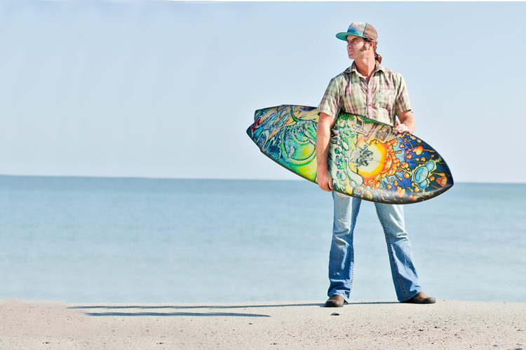 Drew Brophy: an established surfboard artist for more than 30 years