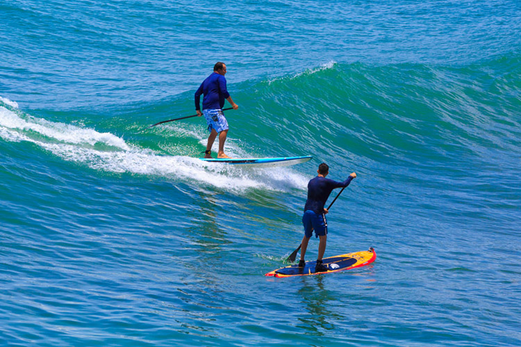 Drop-in: a critical violation of the surfer's code | Photo: Shutterstock