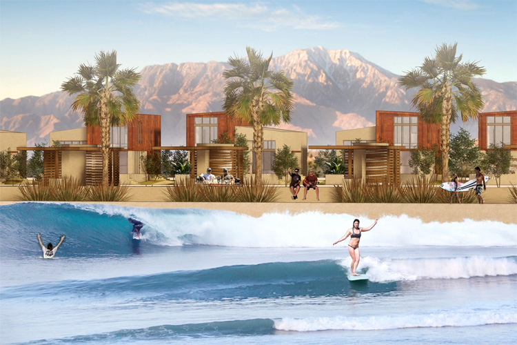 DSRT Surf: California's Palm Desert will have a wave pool powered by Wavegarden | Photo: DSRT Surf