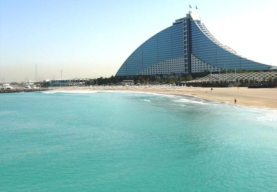 Surfers in dubai may be fined near jumeirah beach hotel for Dubai hotels near beach