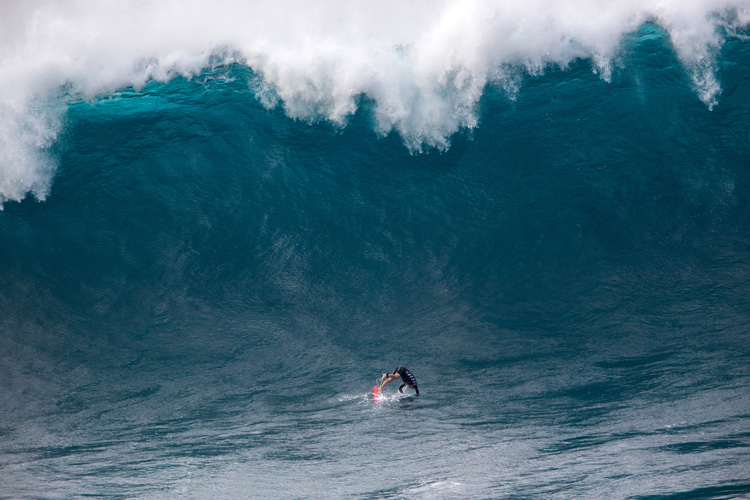 Big wave surfing: a discipline that requires a lot of mental preparation | Photo: Shutterstock