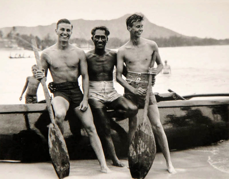 Duke Kahanamoku | Photo: FDR Library