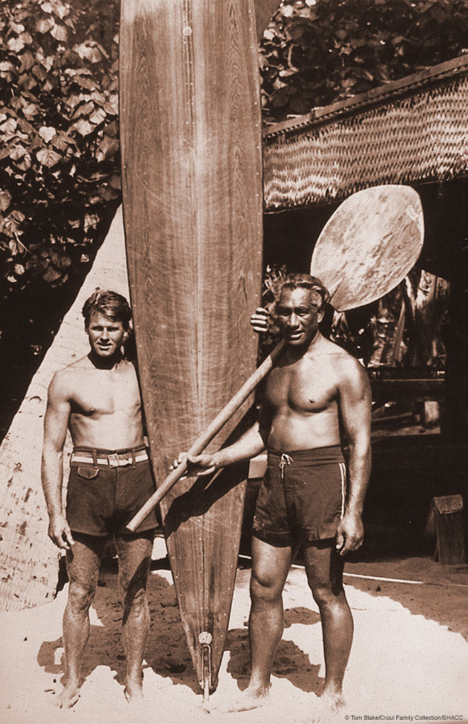 Duke Kahanamoku | Photo: Tom Blake/Croul Family Collection