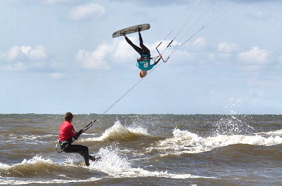 2011 Dutch Kiteboard Open: the rookie showdown