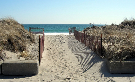 East Matunuck Beach: never ride by yourself