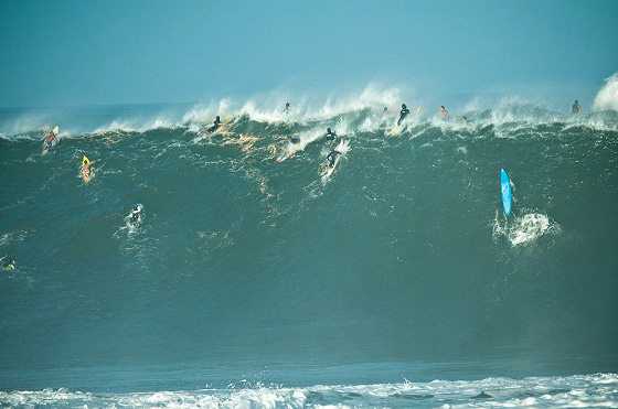 The Quiksilver In Memory of Eddie Aikau: not as big as Eddie would like