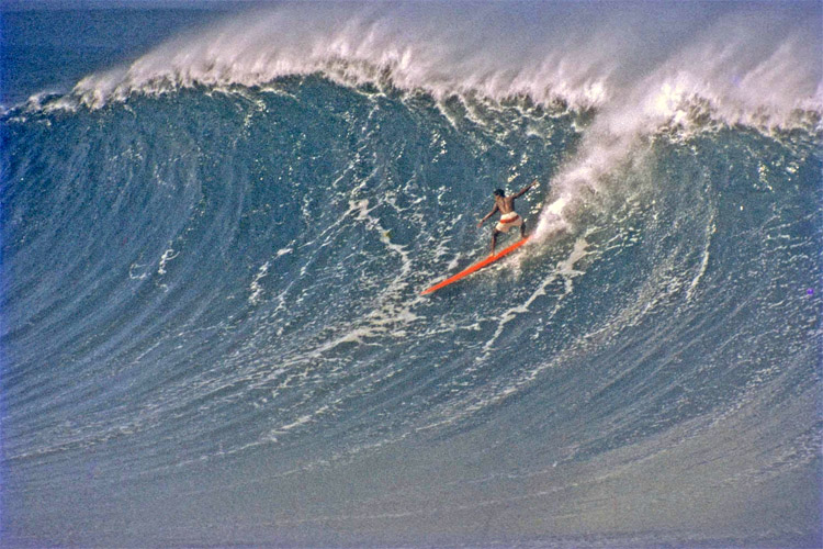 Eddie Aikau: a big wave charger