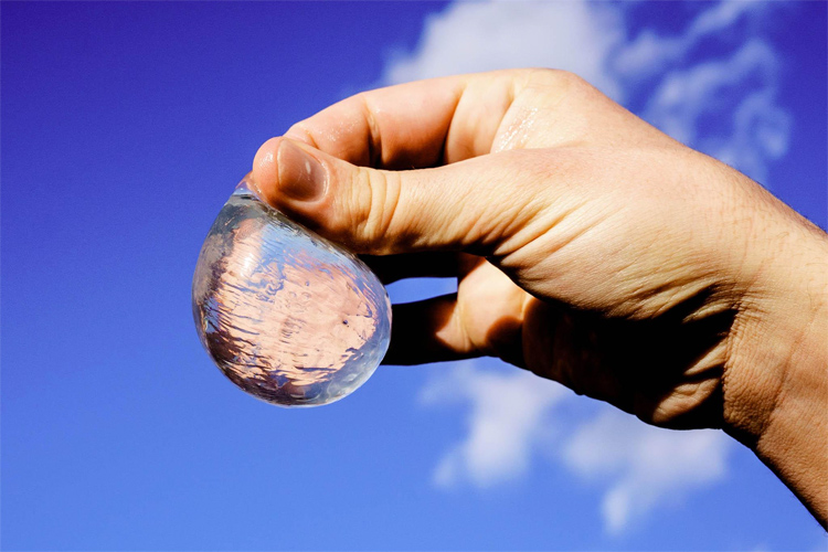 Ooho!: the edible water bottle | Photo: Ooho!