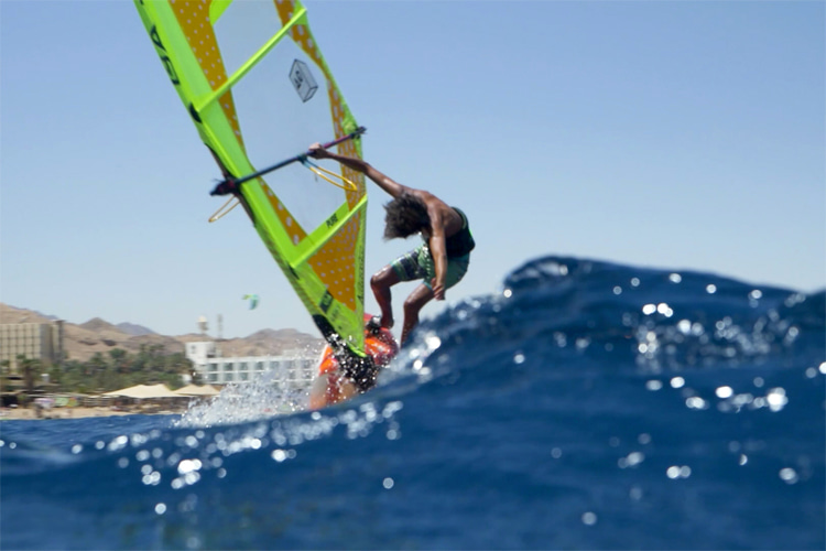 Eilat, Israel: a windsurfing heaven in the Red Sea