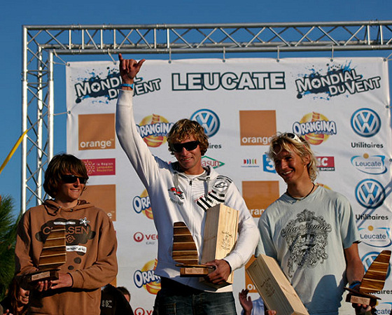 Euro Freestyle Pro Tour: winners smile in Leucate