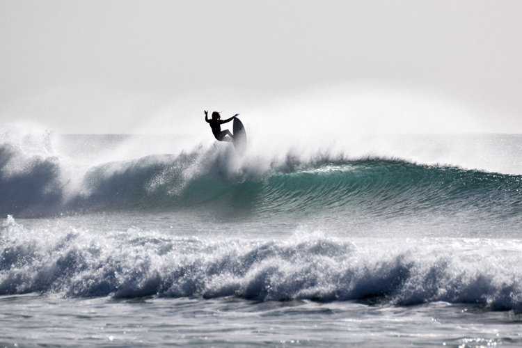 El Cotillo: an intense beach break