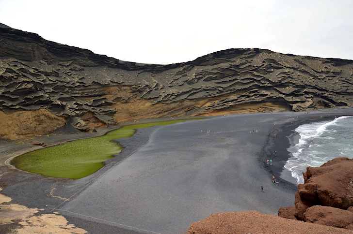 El Golfo, Spain: volcanic waves and lagoons