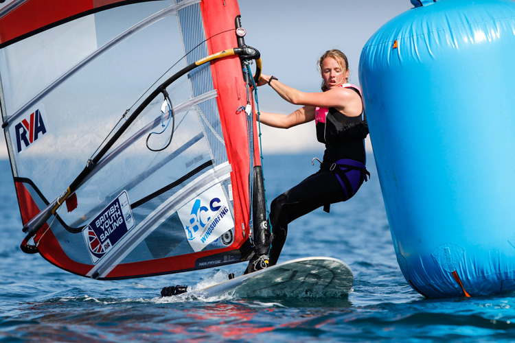Emma Wilson: winner of SportsAid's One-to-Watch Award 2015 | Photo: RYA