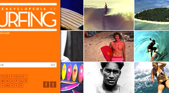 Encyclopedia of Surfing: the online version is an endless wave