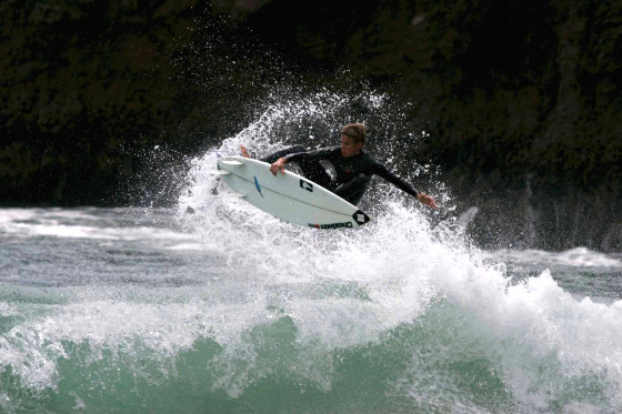 English National Surfing Championships: youngsters are dangerous