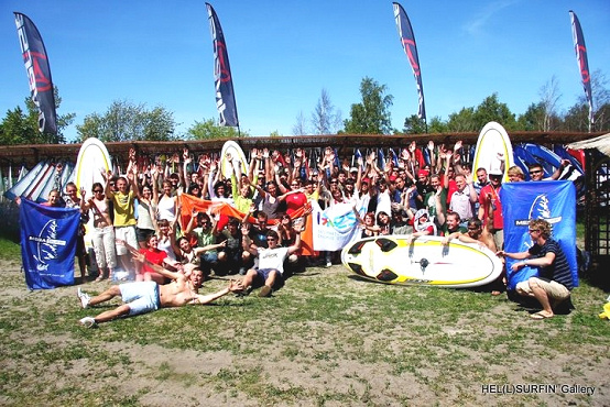 Erasmus students will windsurf in the Hel Peninsula