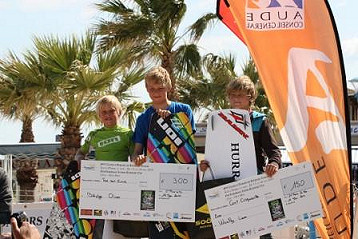 Junior Kitesurf Cup: young kiters smaller than their prizes