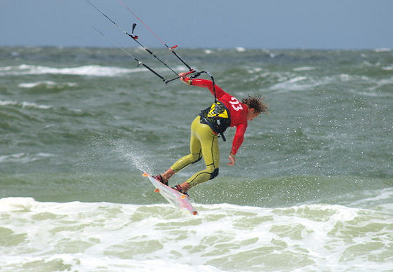 Kitesurf Tour Europe: stunning action