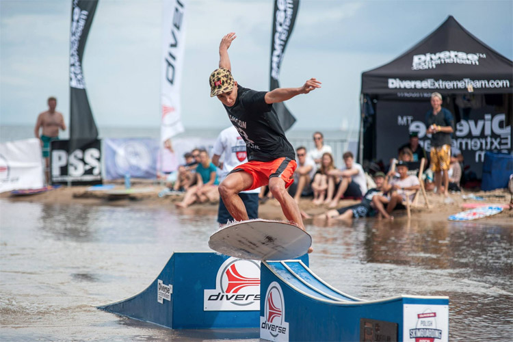 European Skimboarding Cup: showcasing the best flatland riders of the Old Continent | Photo: Dakine Polish Skimboarding Open