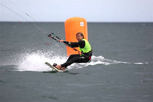 2008 BKSA Exmouth Racing: Denzil Williams won the men's event