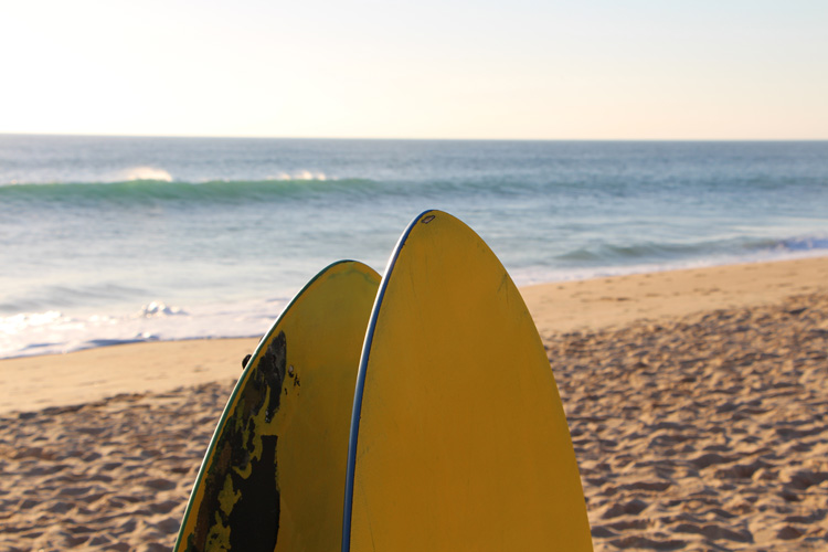 Faro Beach: a perfect spot for skimboarding | Photo: SurferToday