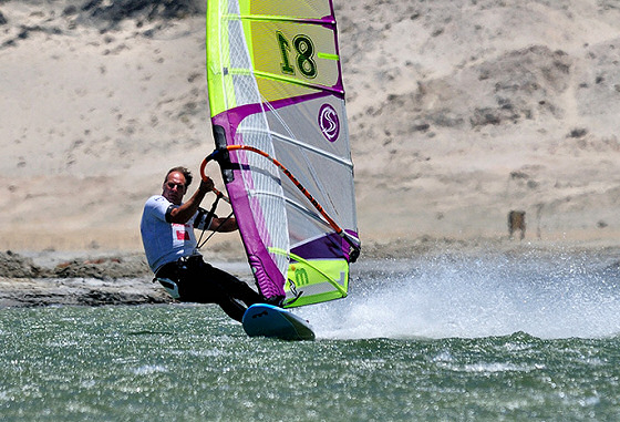 Farrel O'Shea: king of British speed windsurfing