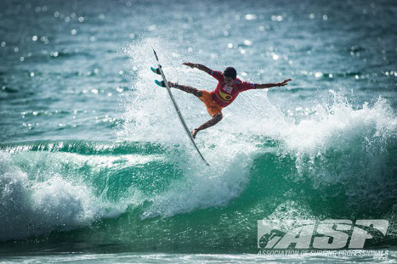Filipe Toledo: a Brazilian surfer with an European surname