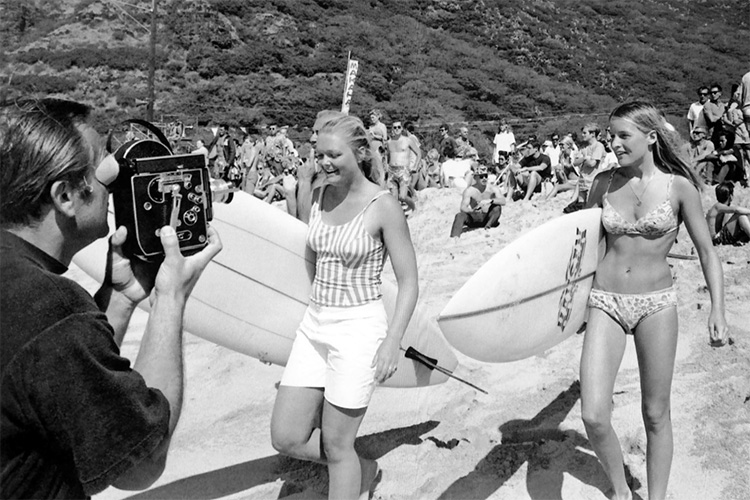 Joyce Hoffman and Margo Godfrey: female surfing stars in 1968