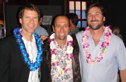 Fernando Aguerre (center) and Save the Waves board of directors