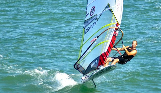 Fernando Martínez del Cerro: the Cadiz star of Formula Windsurfing