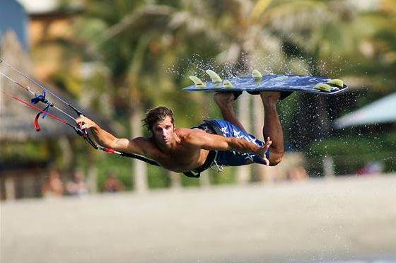 Fernando Paraud: he will be missed in kiteboarding
