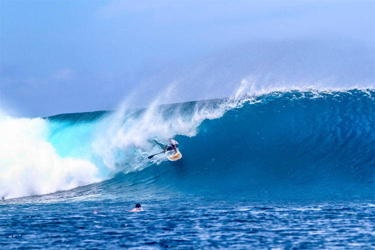 Fiji: the world's best SUPers and paddleboarders will compete for medals | Photo: Tourism Fiji