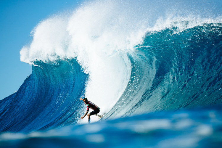 2020 Billabong Pipe Masters: the CEO of WSL has tested positive for Covid-19 | Photo: WSL