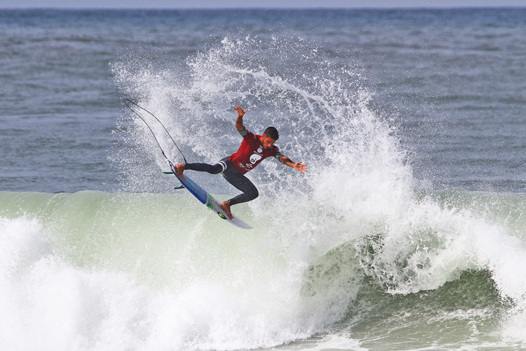 Filipe Toledo: his air game paid off | Photo: Smorigo/WSL