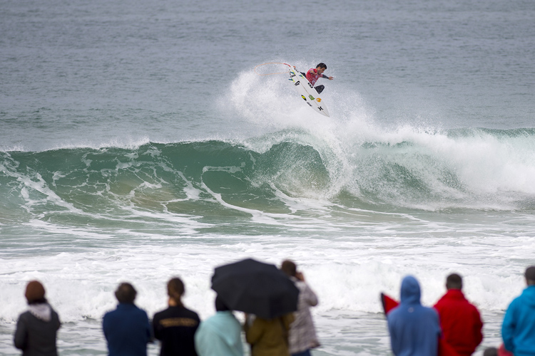 Filipe Toledo: third victory of the season | Photo: Kirstin/WSL