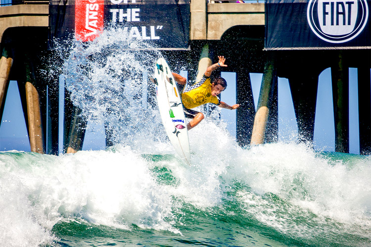 All eyes are on the Vans US Open of Surfing 2016
